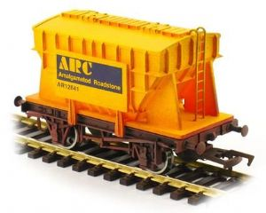Dapol 4F-035-103 Presflo Cement Hopper: Amalgamated Roadstone, Weathered